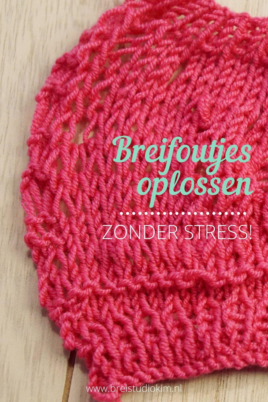 Breien - Foutjes oplossen (zonder stress!) 1