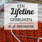 Breiwerk uithalen - Een lifeline gebruiken