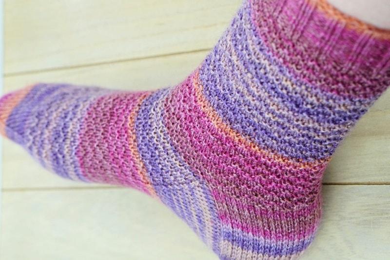 Aurora sokken patroon