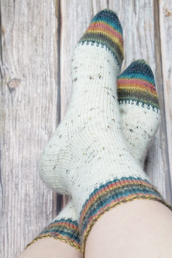 Elliot sokken patroonfoto